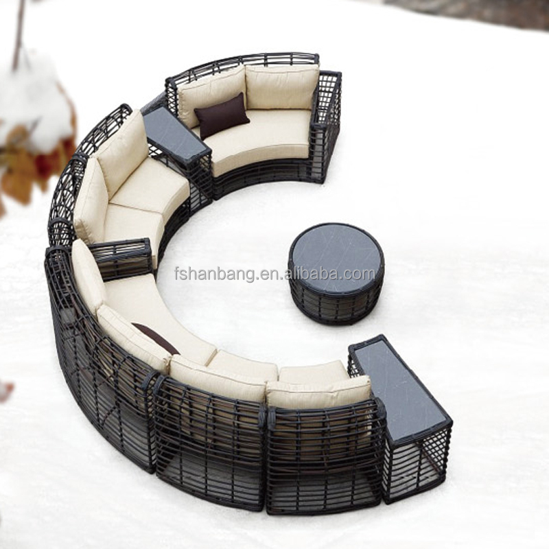 Patio Wicker Synthetic Polyethylene Rattan Indonesian Outdoor Furniture Jakarta