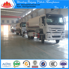 small mobile fuel tank trailer oil trailer with oil flow meter and pump