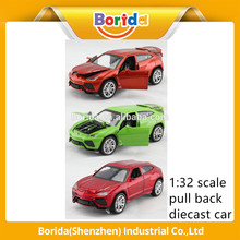 factory price metal pull back toy car with Good Service
