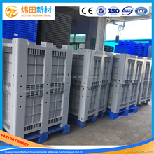 Warehouse Used Storage Plastic Packaging Box Logostic Industry Pallet Box