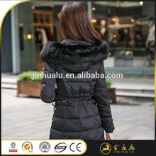 2017 Factory supply Hollow cotton 1508 swing down coat lady