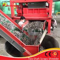 Refuse derived fuel RDF shredder/waste shredding