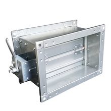 China Products galvanized steel Rectangular Volume Control Dampers