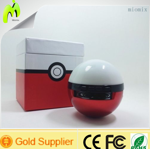 Hot 2016 products Pokemon Bluetooth Speaker laptop <strong>computers</strong>