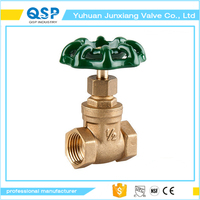 good quality brass resilient seated gate valve