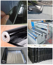SBS Self adhesive modified bitumen membrane rolls