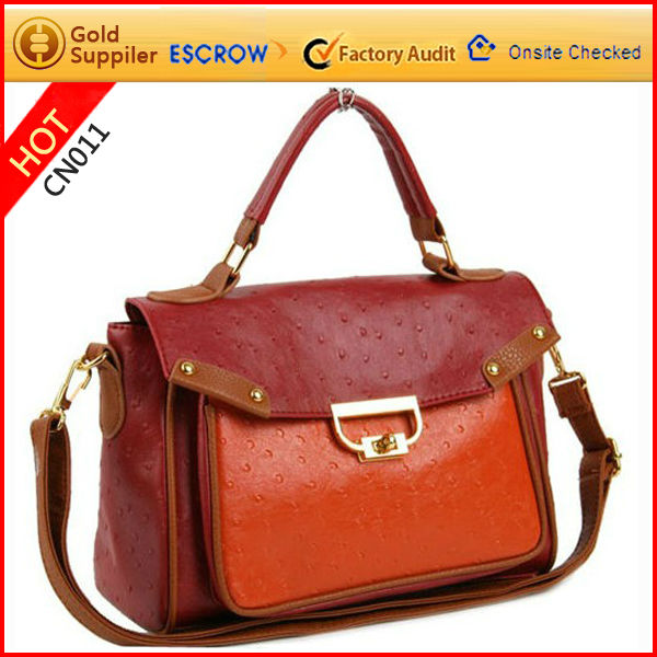 2012 winter new fashion cute ladies's pu leather shoulder bag tote bag