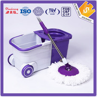 Super clean 360 magic mop/360 spinning mop with bucket
