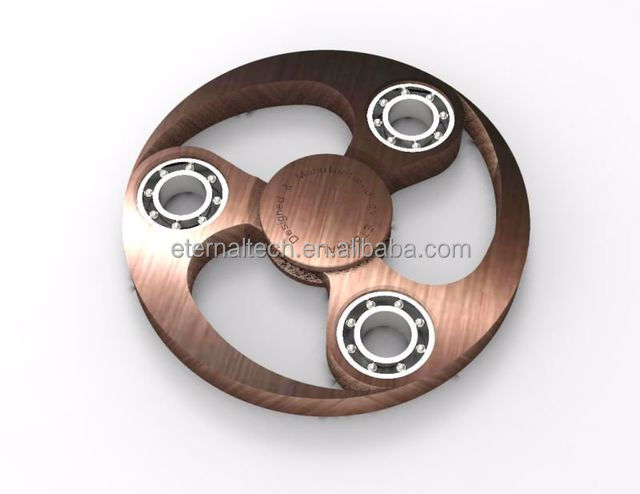 2017 Time Killer Bearing Brass Hand Spinner Toy Best Spinner Toy