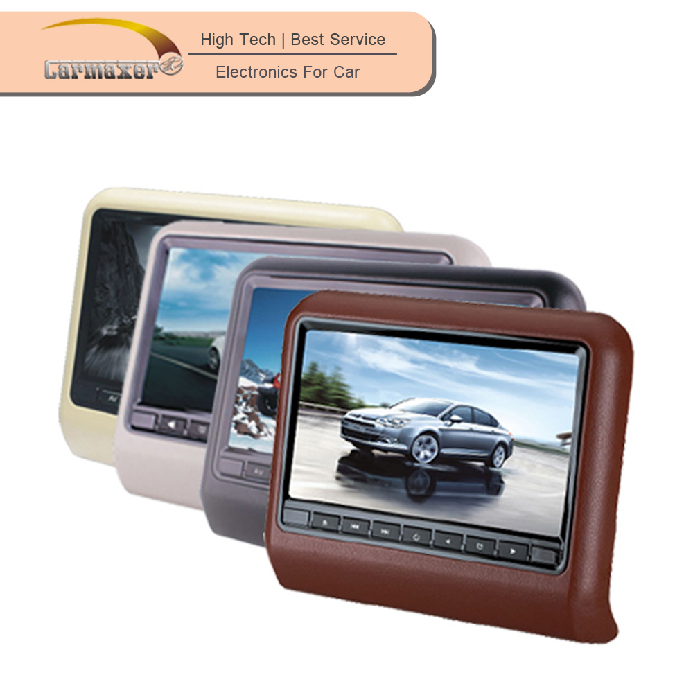 Hot selling 9 inch cheap portable headrest car dvd player