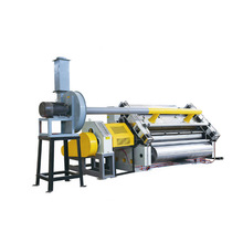 New corrugated paperboard making machine made in China , Single facer machine