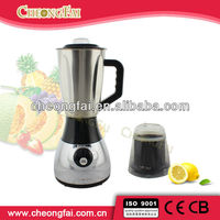 Stainless steel big jar 2 in 1 blender
