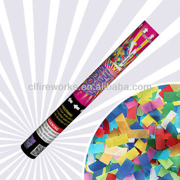 45CM Colorful Slip Confetti