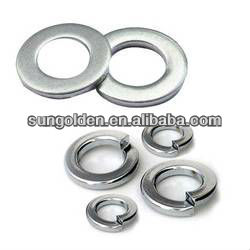DIN125/ ISO7089 flat washer without chamfer for screw up to property class 8.8