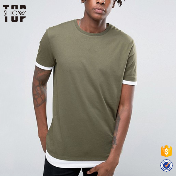 Guangdong oem service clothing men short sleeve t shirt design your own t shirt