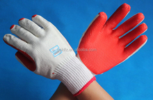 high quality rubber gloves heat resistant safety gloves on palm
