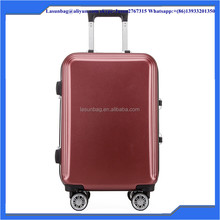 factory sale ABS pc luggage,travel case luggage and bags sky travel luggage bag suitcase set