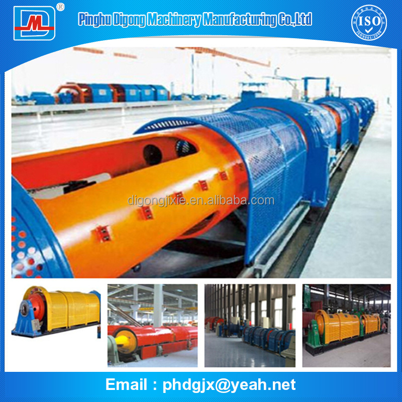 High Speed 1+6/ 200 Cable Steel Wire Twist Tubular Stranding Machine
