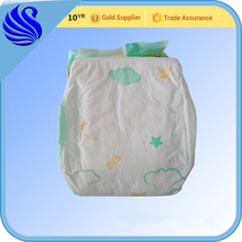 Cheap China factory lovely fitted cloth baby diaper