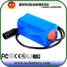 4s1p ISO9001 SGS UN38.3 UL approved long cycle life battery 14.4v li-ion battery pack