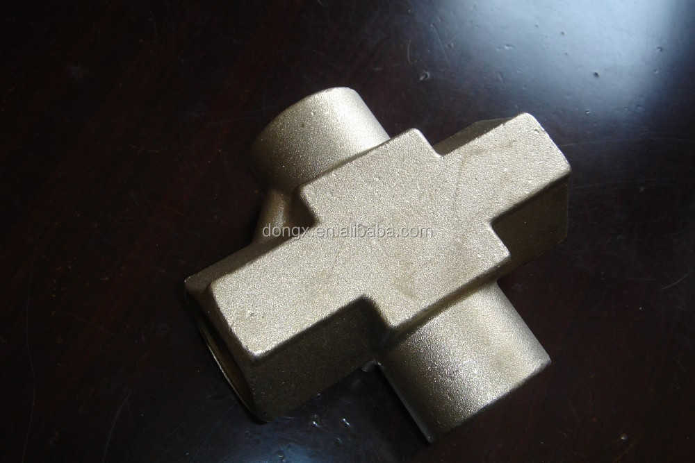 "Brass hose fittings,3/4"" brass 4 ways male Brass Hose Faucet Manifold"
