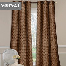China supplier pure fabric window curtain home decor