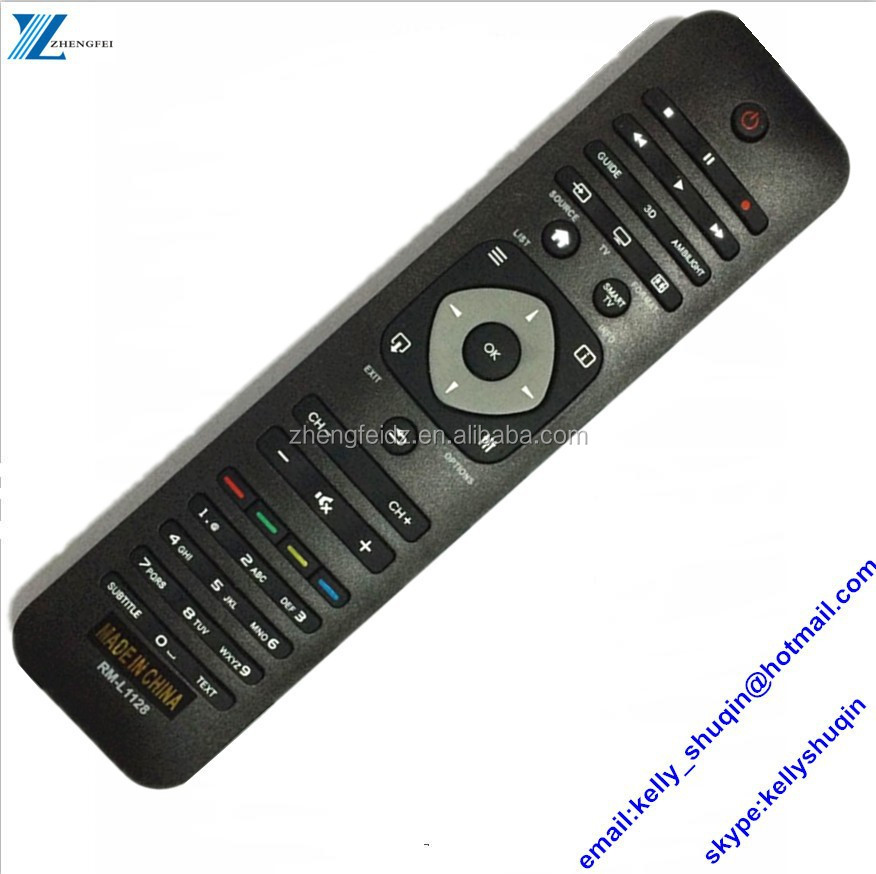 44-45 keys LCD/LED universal remote controllers for philibus RC5 RM-L1128W 1128 RM-L1128 42254990467 2422 549 90467 YKF309-001 /