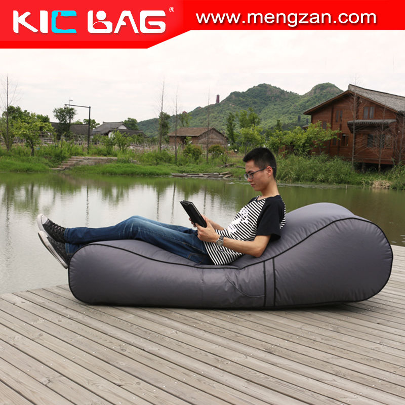 pvc coated folding spa lounge chair