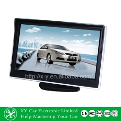 Universal 5 inch 5W car LED TFT monitor (XY-2050)