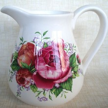 whiter ceramic wholealse pitcher