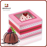 Custom paper cupcake box wholesale with competitive price