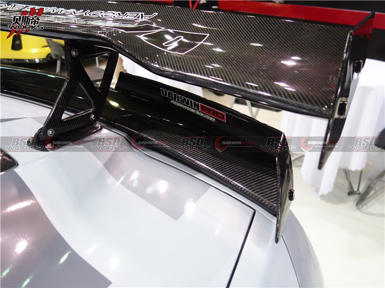 Carbon Fiber Rear spoiler For 14-15 Chevrolet corvette C7 BKSS Style Trunk spoiler GT Wing