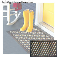 Colour permeable asphalt mat