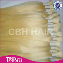Wholesale Factory Price Real Remy Hair One Donor 7A European Full Cuticle No Tangle No Shedding Dyed 613