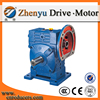 Low Noise WPWDS industrial cast iron Worm Gear Speed Reducer geared motor for machine equipment