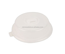 Plastic Microwave Spatter Cover with handle