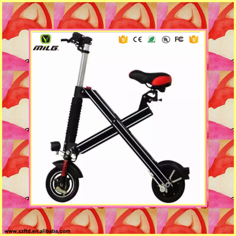 2016 folding 2 wheel adult hybrid kick scooter electric for adult