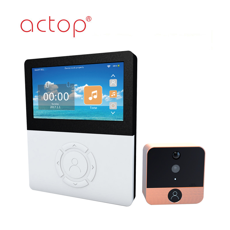 Shenzhen ACTOP wifi digital door viewer peephole metal shell