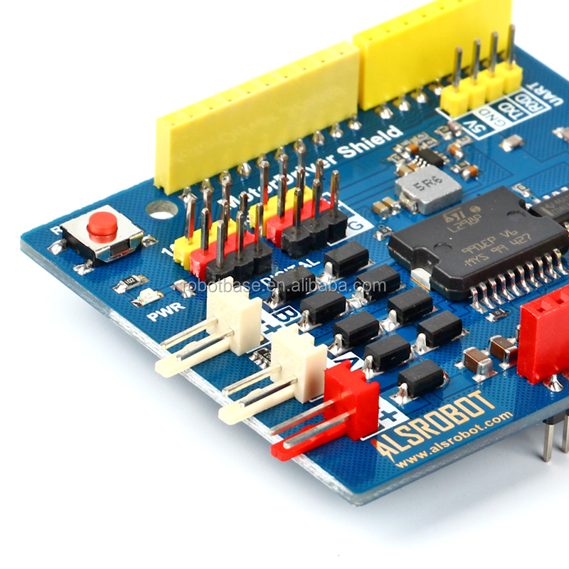 L298A Motor Driver Shield for Arduino UNO R3 Controller Development Board