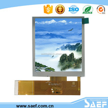 3.5 inch sunlight readable tft lcd screen Transflective LCD 480* (RGB )*640 TFT LCD with HX8363-A