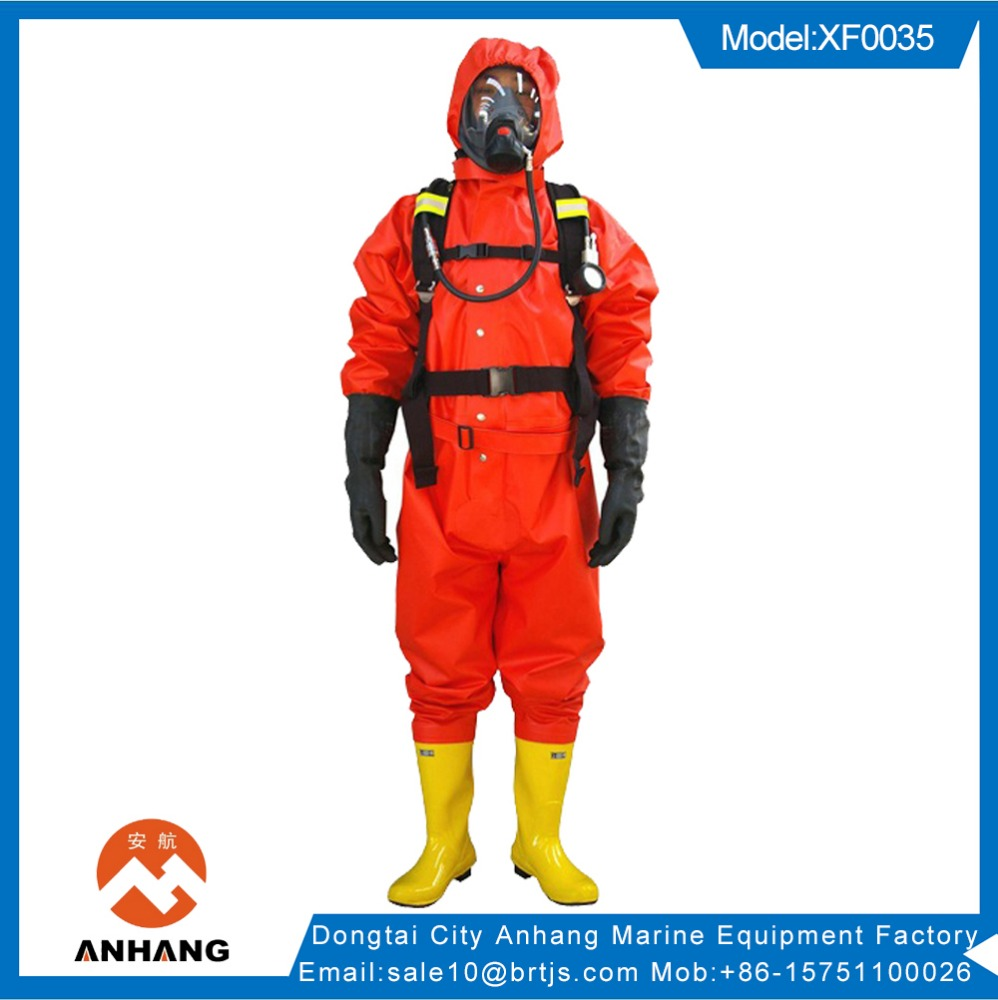 Safety garment rubber chemical protective suit for sale