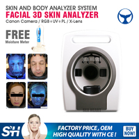 Latest product salon software Magic Mirror 3d skin analyzer with Medical CE