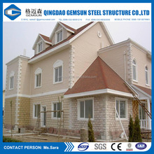 2016 BV Verified Light Steel Affordable Prefabricated Houses