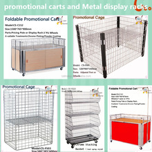 Promotional Racks,Metal Display Rack,Goods Racks,