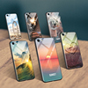 For iphone X marble texture mobile case electroplating bumper Hard Plastic cell phone cover case for iPhone case