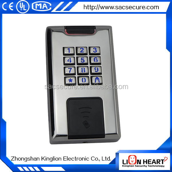 hot sale stand alone access control reader,rfid em door access control