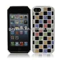 Hot Selling Bling Diamond Case for iphone5 Case,Diamond Rhinestone Case For Iphone 5