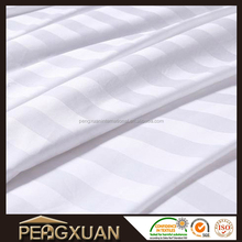 hotel bed linen 300 TC Satin Stripe bed sheet
