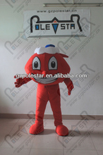 hot sale airplane mascot costume for show