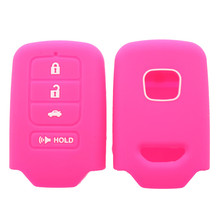 wholesale remote key 3 button silicone cover for honda car key case